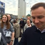 Andrzej Duda częstował ludzi kawą na patelni… po raz drugi