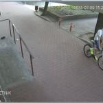 Ukradli rower. Rozpoznajecie ich?
