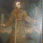 Odnaleziono obraz patrona Warszawy z XVIII w. Trwają prace konserwatorskie