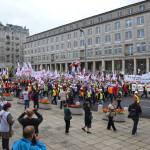 Dziś manifestacja górników, kolejarzy i pracowników zbrojeniówki! Może być nawet 15 tys. osób!