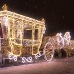 Królewski Ogród Światła rozświetli pałac w Wilanowie [WIDEO]