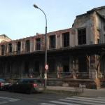Pałacyk Konopackiego przechodzi metamorfozę. Stropy zniszczone przez stroczka, zamontowano nowe