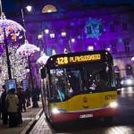 Świąteczna iluminacja na Trakcie Królewskim – specjalna linia tramwajowa i autobusy na objazdach