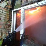 Tragiczny pożar na ul. Chyrowskiej. Zginęła jedna osoba