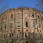 """Chcą ocalić dwa XIX-wieczne zbiorniki gazu nazywane są """"Wolskim Koloseum"""""""