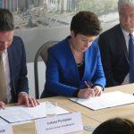 Umowa na kładkę pod mostem Łazienkowskim podpisana![WIZUALIZACJE]