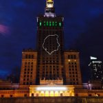 Profil Chopina na Pałacu Kultury i Nauki. O co chodzi?