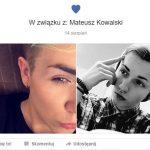 Dwóch chłopaków z Warszawy ustawiło status związku. Wywołali burzę