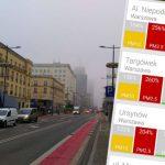 Mgła czy smog? Normy powietrza znacznie przekroczone. Nie przebywajcie długo na zewnątrz