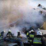 Eksplozja w Łomiankach: pod gruzami znaleziono ciało