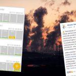 """Burza na profilu m.st. Warszawy po opublikowaniu informacji o smogu. """"Państwo nic z tym nie robią konkretnego"""""""